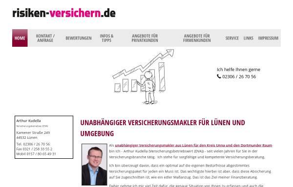 Vorschau von www.dortmund.versicherung, Arthur Kudella - Ihr Versicherungsmakler in Lünen