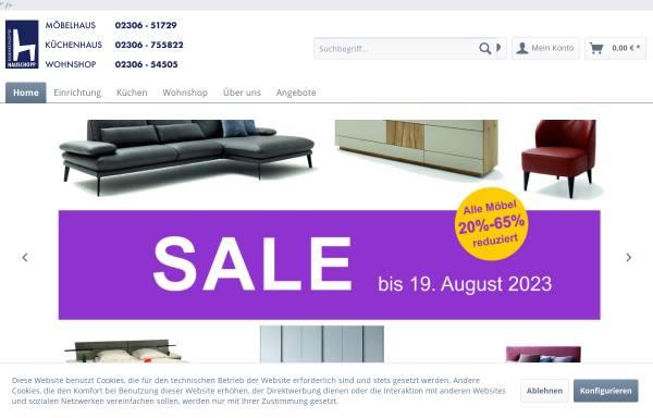 Vorschau von www.hauschopp.de, Hauschopp Raumkonzepte, Inhaber Bodo Hauschopp