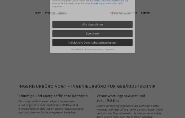 Vorschau von www.der-vogt.de, Ingenieurbüro M. Vogt GmbH