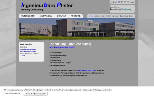 222649a8888b99 Ingenieurbüro Pfister in Würzburg  Gebäudetechnik ...