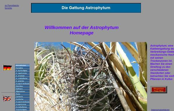Vorschau von www.astrophytum.de, Astrophytum