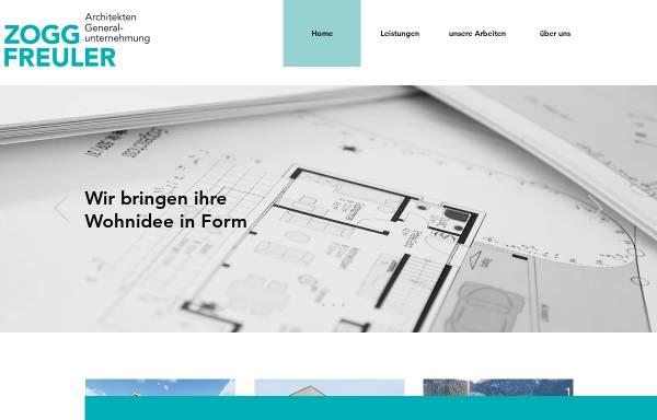 Vorschau von www.zogg-freuler.ch, Architekturbüro Zogg und Freuler