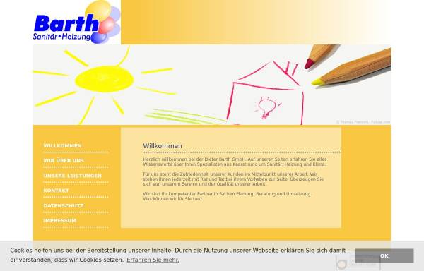 Vorschau von www.barthgmbh.de, Dieter Barth GmbH