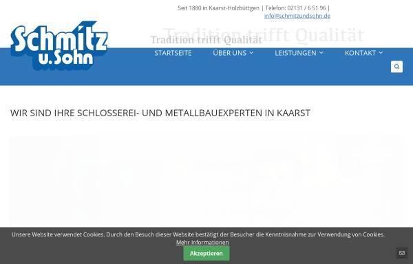 Vorschau von www.schmitzundsohn.de, Schmitz und Sohn GmbH