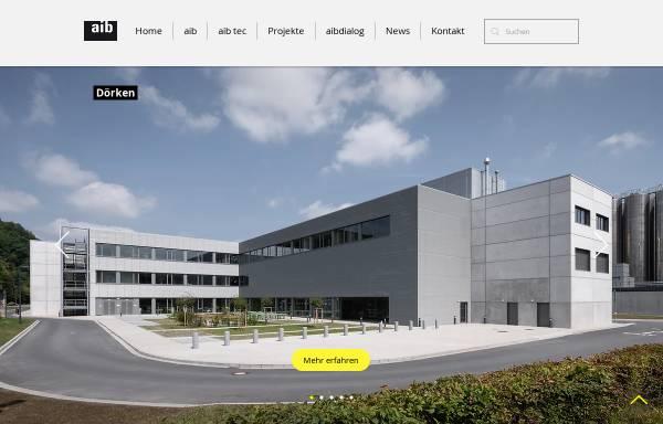 Vorschau von www.aibonline.de, Agiplan Integrale Bauplanung
