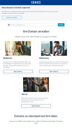 Vorschau der mobilen Webseite www.berendonck.de, K. H. Berendonck Nachfolger Markus Berendonck e.K.