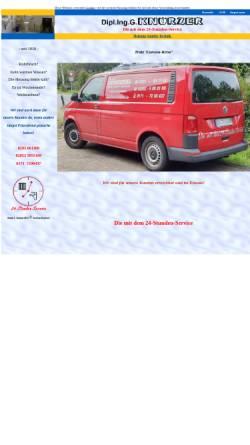 Vorschau der mobilen Webseite www.knoerzergmbh.de, Dipl. Ing. G. Knörzer - Heizung-Sanitär-Haustechnik e. K.