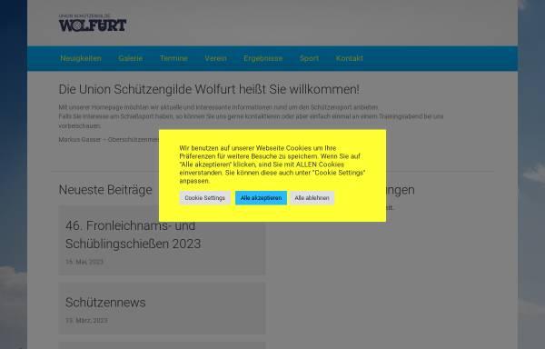 Vorschau von www.usg-wolfurt.at, Union Schützengilde Wolfurt