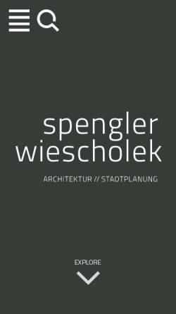 Vorschau der mobilen Webseite www.spengler-wiescholek.de, Spengler Wiescholek