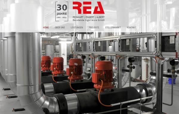 Vorschau von www.rea-ingenieure.de, REA Reinhart Engert Albert, Beratende Ingenieure GmbH