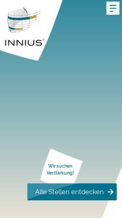 Vorschau der mobilen Webseite www.rr-planung.de, Reuter Rührgartner - Planungsgesellschaft für Gebäudetechnik mbH