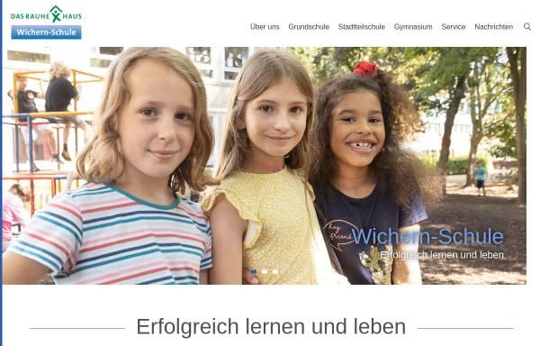 Vorschau von www.wichern-schule.de, Wichern-Schule