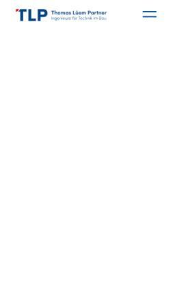 Vorschau der mobilen Webseite www.tlp.ch, Thomas Lüem & Partner AG