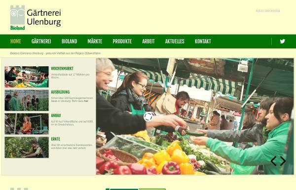 Vorschau von www.gaertnerei-ulenburg.de, Bioland Gärtnerei Ulenburg