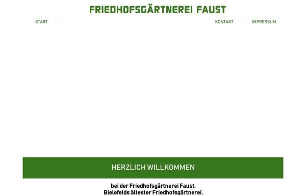 Vorschau von www.friedhofsgaertnerei-faust.de, Friedhofsgärtnerei Faust, Inhaber Heinz Faust
