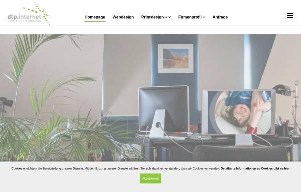Vorschau von www.dtp-internet.de, DTP-INTERNET