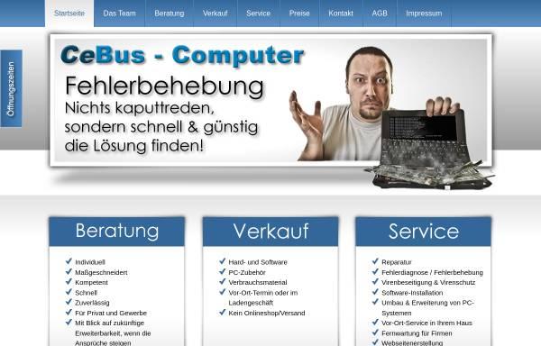 Vorschau von www.cebus-computer.de, CeBus Computer