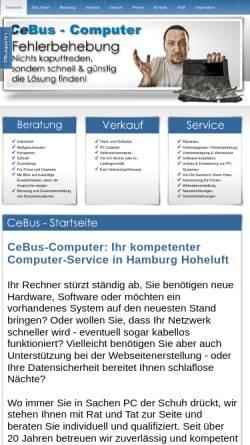 Vorschau der mobilen Webseite www.cebus-computer.de, CeBus Computer