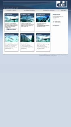 Vorschau der mobilen Webseite www.ddhandel.de, DD Handelsgesellschaft mbH