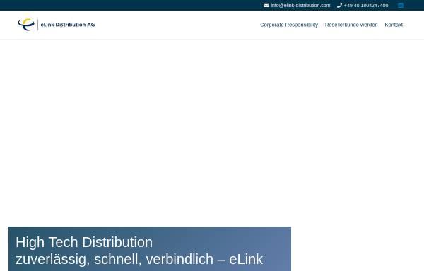 Vorschau von www.elink-distribution.com, ELink Distribution AG