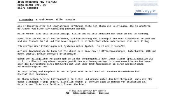 Vorschau von www.jb-dienste.de, Jens Berggren EDV-Dienste