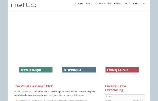 Vorschau von www.ntcg.de, NetCo GmbH