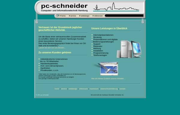 Vorschau von www.pc-schneider.de, PC Schneider