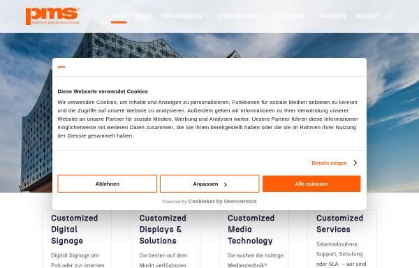 Vorschau von perfect-media-solutions.de, Perfect Media Solutions