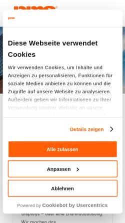 Vorschau der mobilen Webseite perfect-media-solutions.de, Perfect Media Solutions