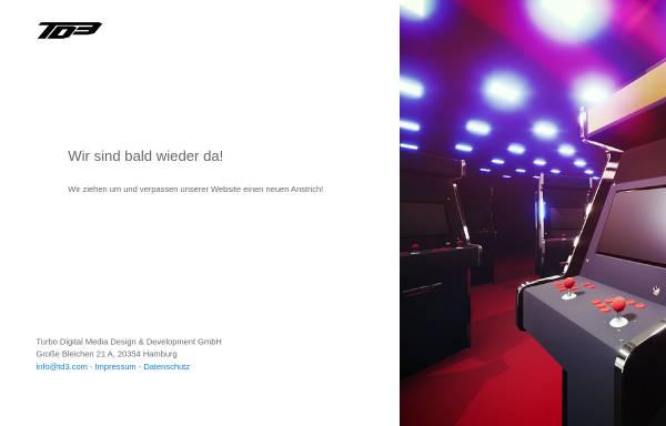 Vorschau von www.td3.com, Turbo Digital Media Design & Development GmbH