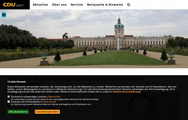 Vorschau von www.city-cdu.de, CDU Charlottenburg-Wilmersdorf