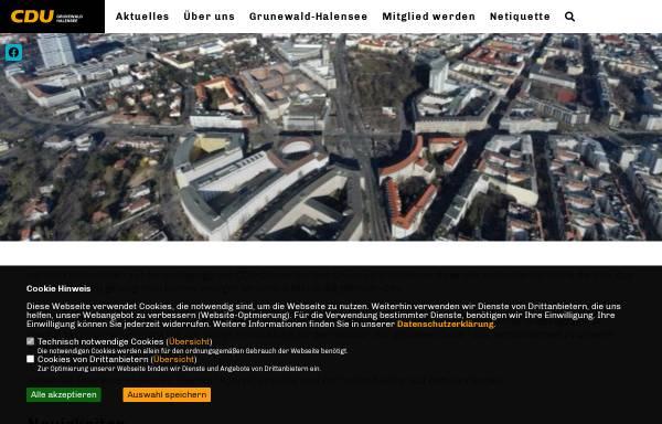 Vorschau von www.cdu-akzente.de, CDU Grunewald-Halensee