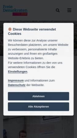Vorschau der mobilen Webseite www.liberalis.de, Liberalis