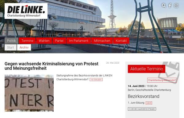 Vorschau von www.dielinke-charlottenburg-wilmersdorf.de, Die Linke. Charlottenburg-Wilmersdorf