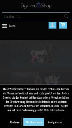 Vorschau der mobilen Webseite www.figuren-shop.de, Figuren-Shop, Harald Skazel