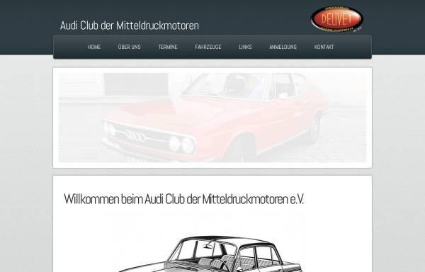 Vorschau von www.acdm-online.de, Audi Club der Mitteldruckmotoren