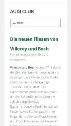 Vorschau der mobilen Webseite www.audiclub-braunschweig.de, 1. Braunschweiger Audi Club e.V.
