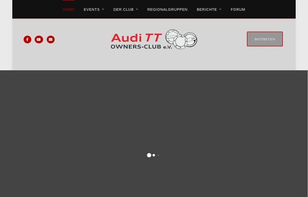 Vorschau von www.tt-owners-club.net, TT-Owners-Club