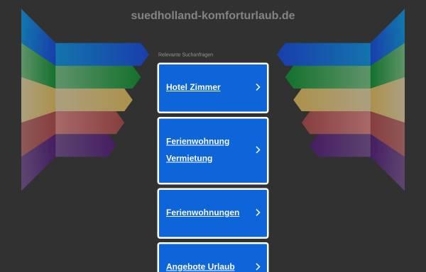 Vorschau von www.suedholland-komforturlaub.de, Ferienhaus in Wemeldinge an der Oosterschelde