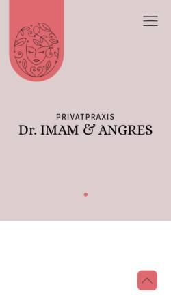 Vorschau der mobilen Webseite www.dr-imam.de, Dr. med. Irawan Imam