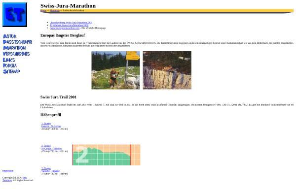 Vorschau von www.tuerlings.de, Swiss Jura Marathon