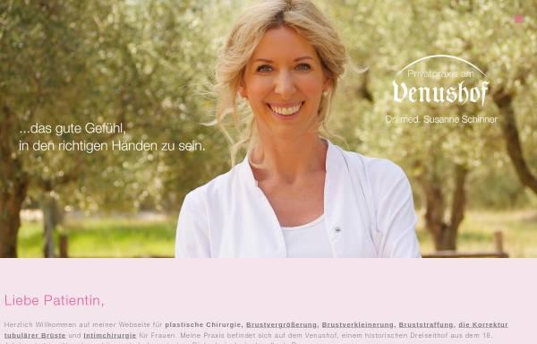 Vorschau von www.plastische-chirurgie-schinner.de, Dr. med. Susanne Schinner