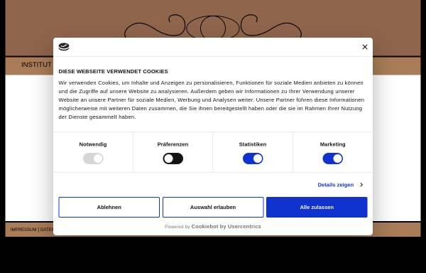 Vorschau von www.epithetik-sauer.de, Epithetik Studio Sauer