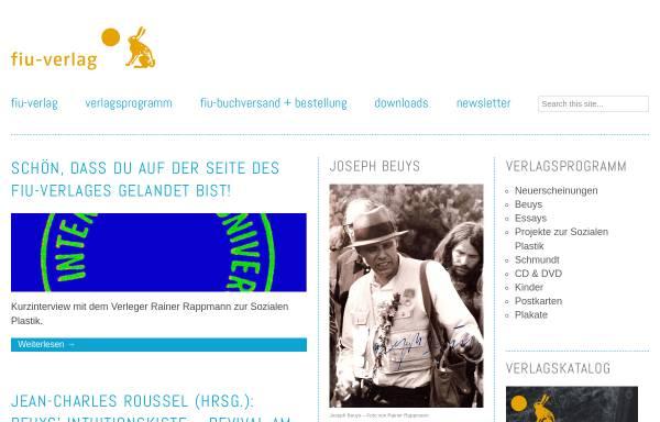 Vorschau von www.fiu-verlag.com, FIU-Verlag
