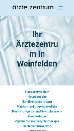 Vorschau der mobilen Webseite www.aerzteimzentrum.ch, Ärzte im Zentrum