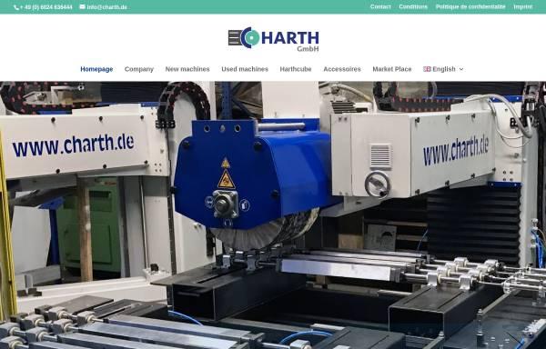 Vorschau von www.charth.de, Carsten Harth GmbH