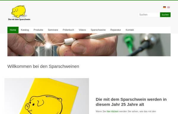 Vorschau von www.diesparschweine.de, Die mit dem Sparschwein Botzian & Kirch GmbH