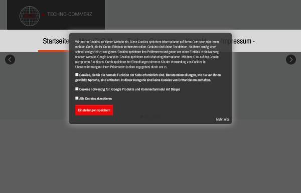Vorschau von www.techno-commerz.de, Techno-Commerz Hau-Klenner GmbH