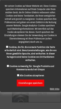 Vorschau der mobilen Webseite www.techno-commerz.de, Techno-Commerz Hau-Klenner GmbH