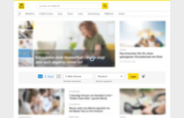 Vorschau von web.de, Web.de FreeMail